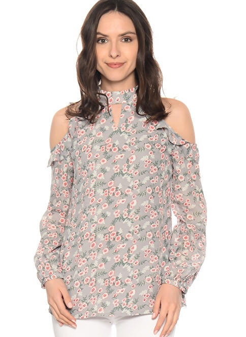 Glamorous Bluz Renkli